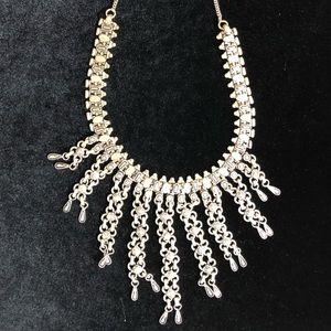 Italian Jewelry - Italian antique silver color necklace